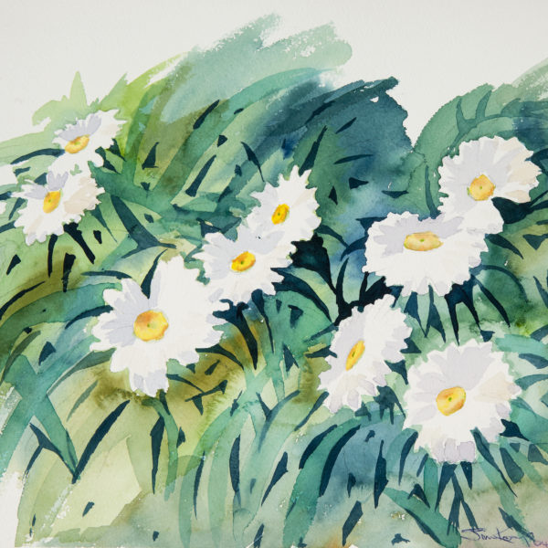 FLOWERS 2 ~ An original watercolour by Jim Keays.